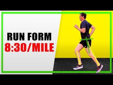 8:30/mile running technique in slow-motion (WORK IN PROGRESS)