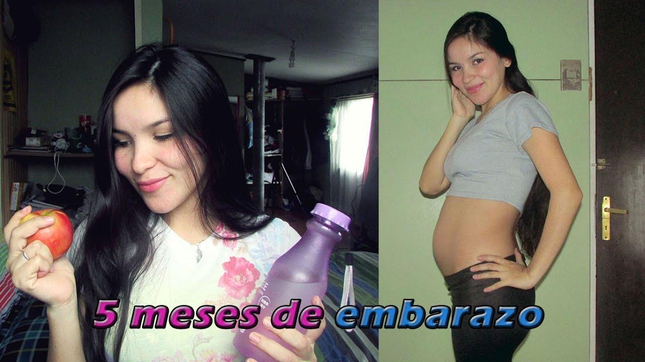 5 meses de embarazo actualizaci n youtube - 8 meses de embarazo ...