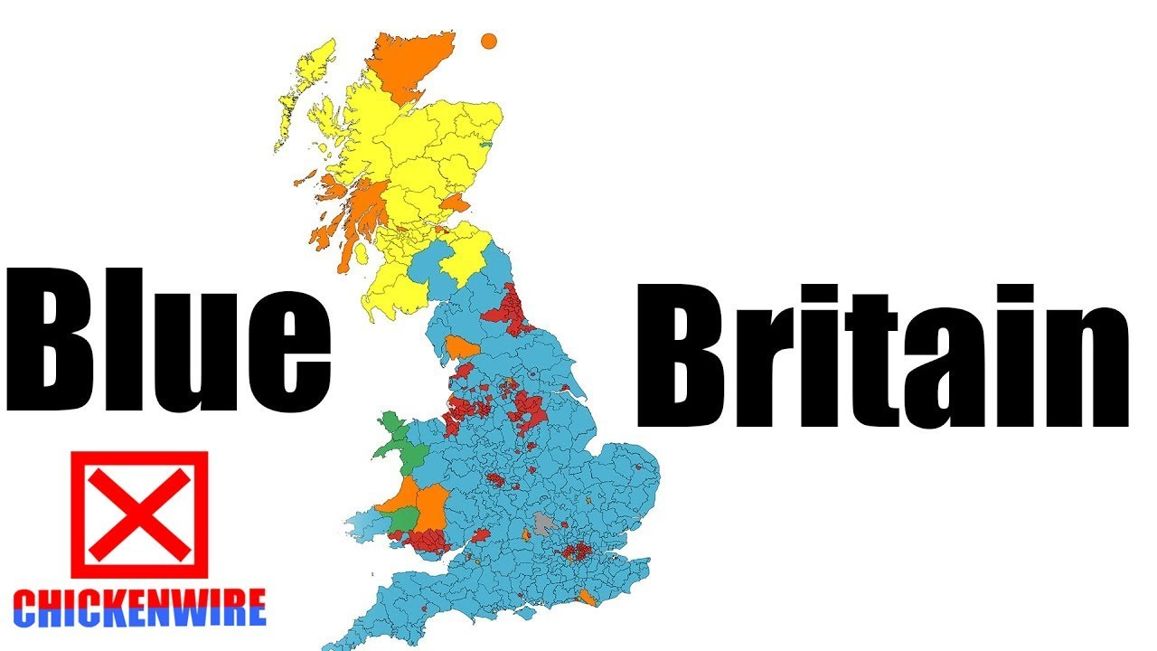 uk election 2017 electoral map prediction