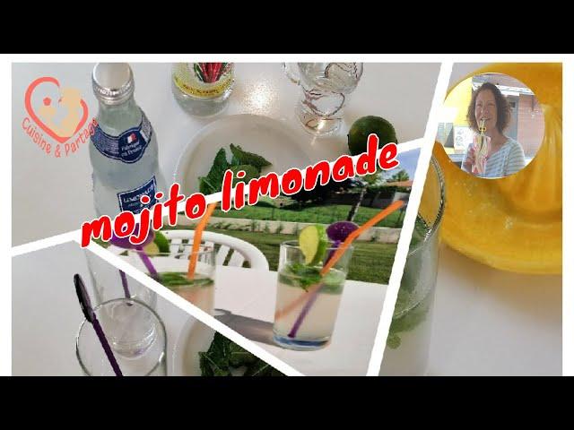 Mojito Limonade Ou Avec Eau Gazeuse
