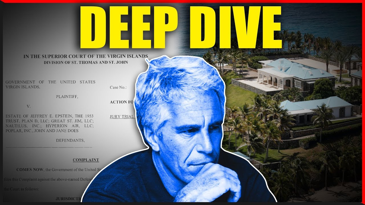 EPSTEIN UPDATE! Virgin Island Police SUE THE ESTATE DEEP DIVE!