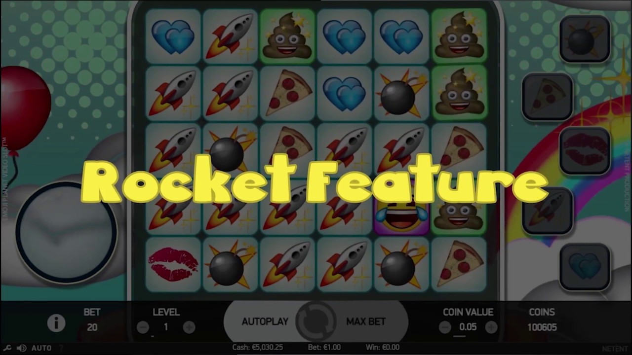 Play Emoji Planet Slot From Netent Official Rtp