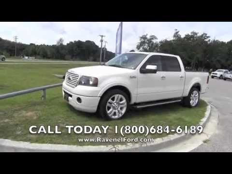 2008 Ford F 150 Limited Supercrew Review Videos Nav 1 Owner 22 Wheels For Sale At Ravenel Ford Sc
