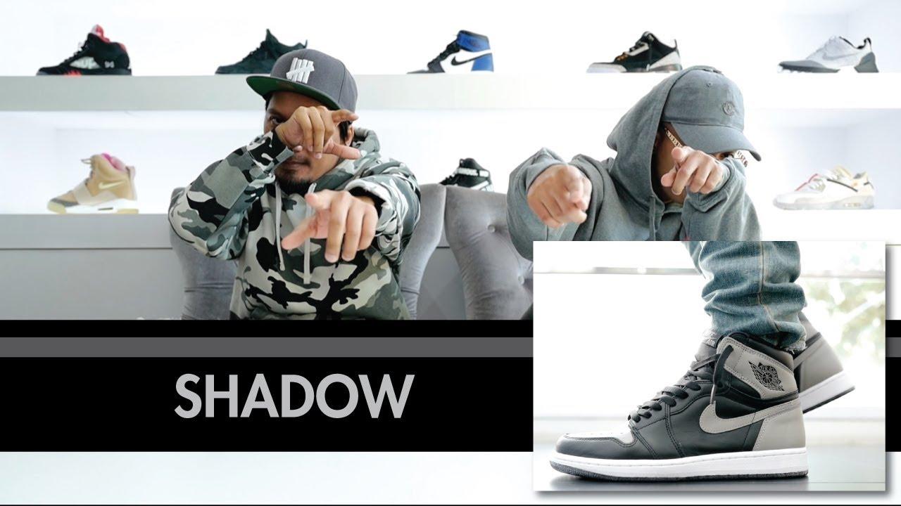 ffb62a71faa67 Episode 26 : Unboxing Air Jordan 1 Retro High OG Shadow - YouTube