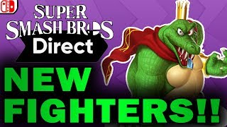 Smash Bros Ultimate DIRECT!!! What To EXPECT? (Discussion Ft  Smashcast)