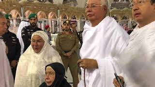 Najib di Kota Mekah