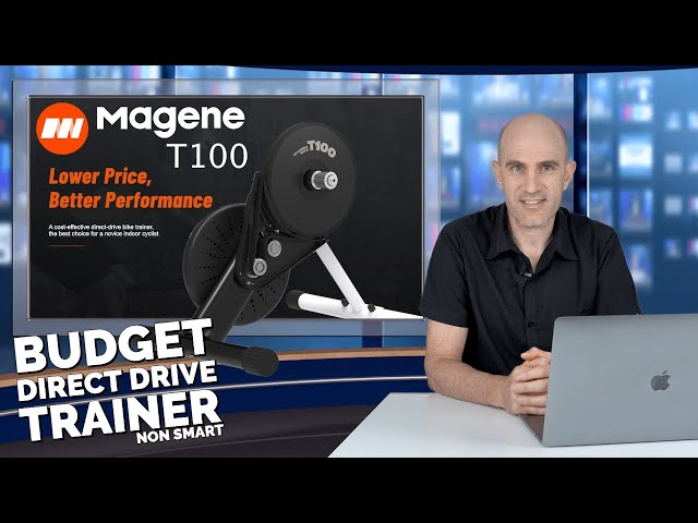 Magene T100 Indoor Trainer // Budget Direct Drive Non-Smart Trainer