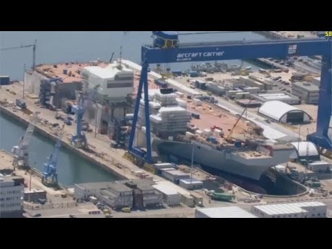 UK's Largest Aircraft Carrier To Be Unveiled Next Month - Yahoo News