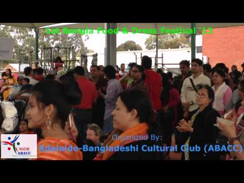 Lubaba Dance at Bangla Food Festival In Adelaide By ABACC