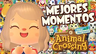 MEJORES MOMENTOS ANIMAL CROSSING NEW HORIZONS | LEVENGAMES