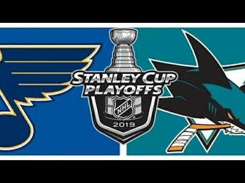 HIGHLIGHTS: St. Louis Blues Vs. San Jose Sharks   Game 5 – May 19, 2019