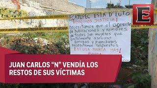 El feminicida de Ecatepec habría intervenido en 20 asesinatos