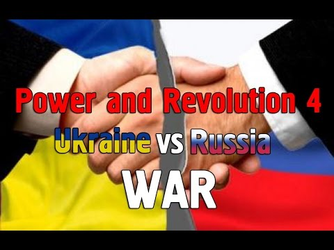 ХТО СИЛЬНІШИЙ?? УКРАЇНА чи РОССІЯ Power and Revolution - Geopolitical Simulator 4