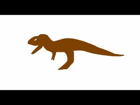 MDF-Giganotosaurus vs Tyranosaurus Rex