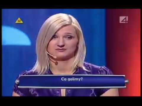 Polish Blonde: I'm shaving my rectum [TV Show] Eng Sub