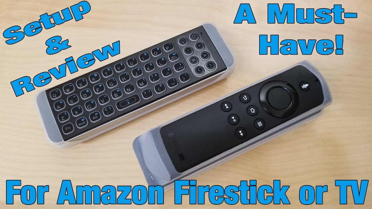 Mini Bluetooth Keyboard For Firestick by iPazzPort – Setup & Review