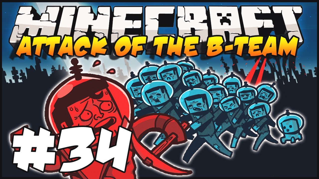 Minecraft Attack Of The B Team Ep34 Shooting Range