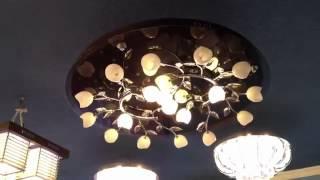 Потолочная люстра 25033-18.mp4(Люстра потолочная 25033/18 A выполнена из комбинированных материалов (металл, стекло), основание толстое калёно..., 2012-10-02T19:43:44.000Z)