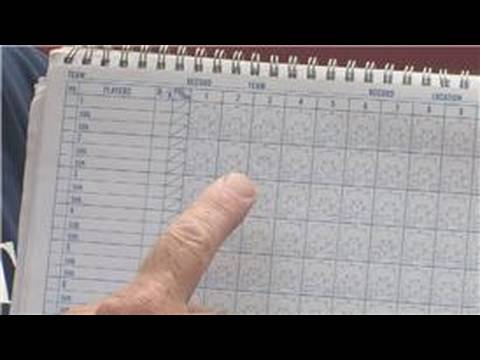 Baseball Information How To Use A Baseball Score Book