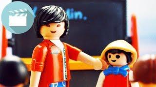 Erster Schultag ohne Jonas: Neuer MItschüler für Marvin | Playmobil Film Deutsch