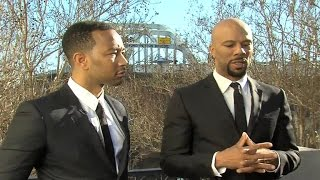 John Legend & Common Perform 'Glory' During Emotional Concert in Selma