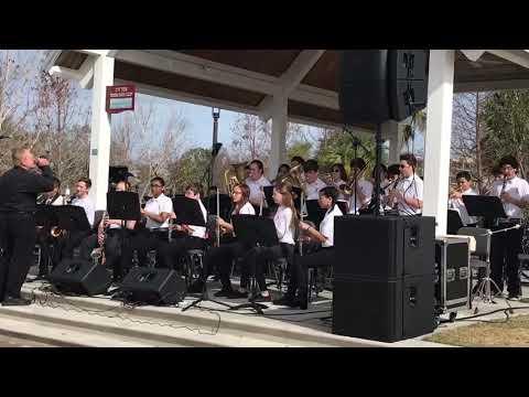 "Neptune Middle School Jazz Band ""Treasure"""