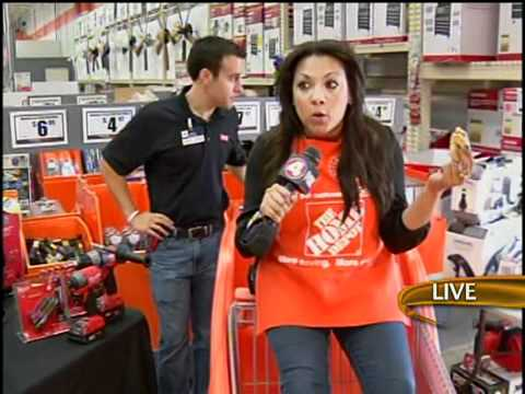 Alex Spray Paints An Employee At The Home Depot Youtube
