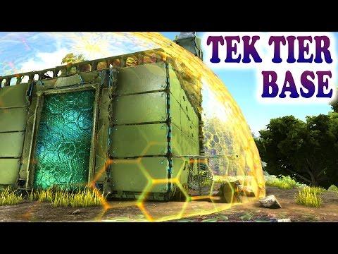 ARK NEW TEK SHIELD GENERATOR & TEK STRUCTURES How to get Tek Tier Base Ark Survival Evolved