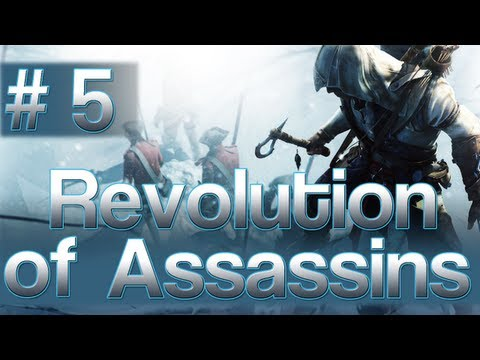 [5] Revolution of Assassins (Let's Play Assassin's Creed 3 w/ GaLm)