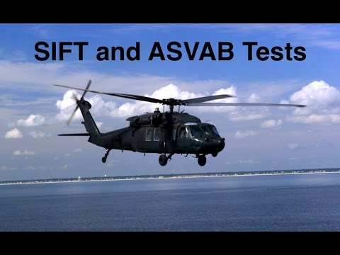 How To Prepare For The SIFT And ASVAB Tests.