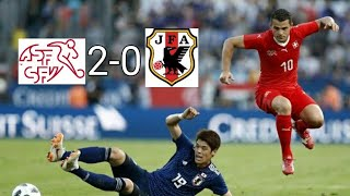 Svizzera - Giappone 2-0 - All Goals & Highlights HD