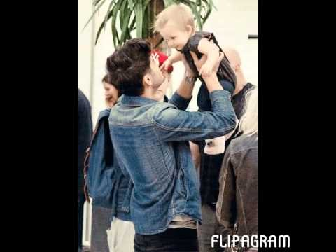 One Direction and baby Lux