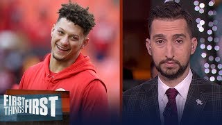 Patrick Mahomes will be a Hall of Famer, if Chiefs win Sunday | FIRST THINGS FIRST | LIVE FROM MIAMI