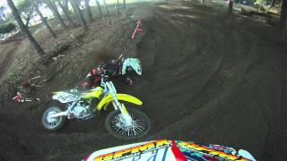 Private Florida Motocross Track Helmet Cam - Greg Pamart