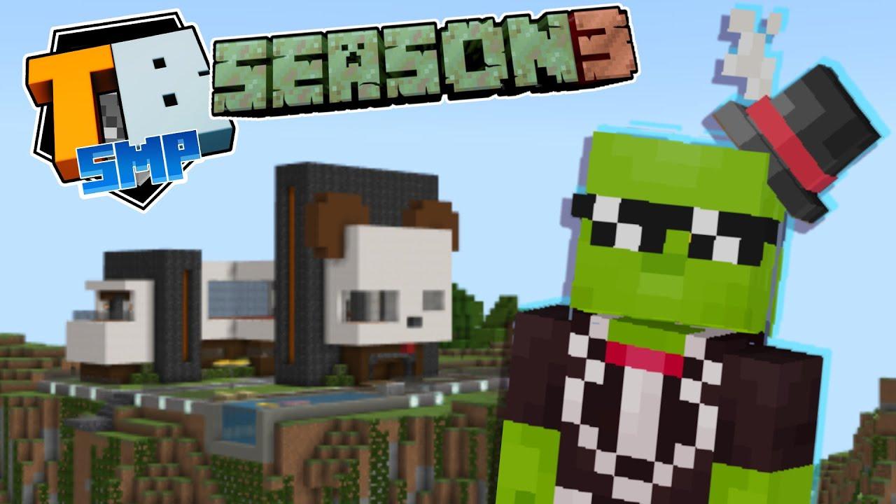 Mystery Party - Truly Bedrock season 3 - minecraft 1.17 letsplay episode 6