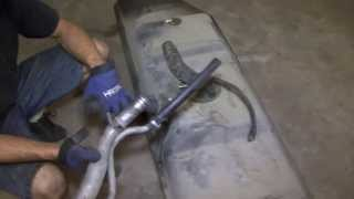 Gas tank filler hose replacement Ford E series vans