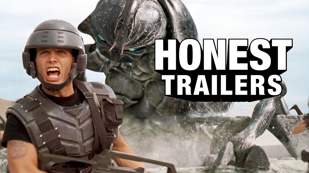 Honest Trailers | Starship Troopers (ft Casper Van Dien)