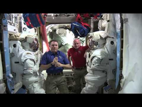 The International Space Station Crew Discuss Life in Space with Weather Channel and Time Magazine