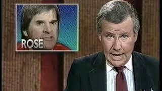 June 20, 1989 - Pete Rose Faces Gambling Allegations
