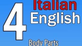 Italian/English Lessons: Body Parts/ I Parti Del Corpo