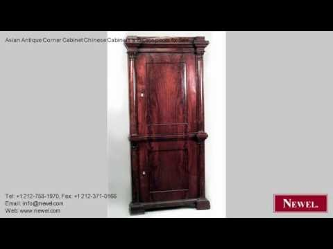Asian Antique Corner Cabinet Chinese Cabinets and Case-