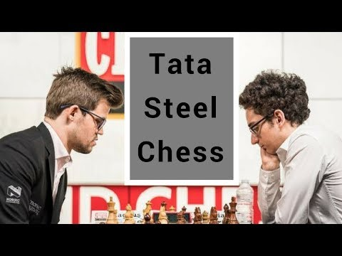 Carlsen x Caruana na rodada inaugural em Wijk aan Zee   MN Gérson Peres