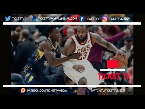 LEBRON JAMES AND THE CAVS GET HUMILIATED IN GAME 1 OF THE 2018 PLAYOFFS VS. PACERS! (REACTION)