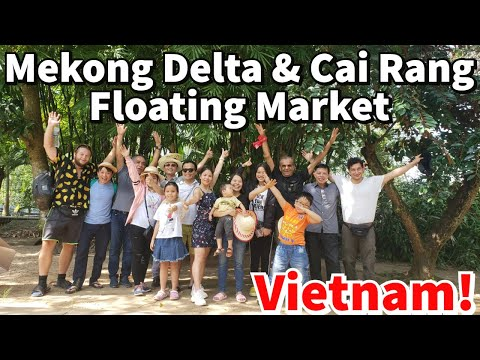 🇻🇳 MEKONG DELTA AND FLOATING MARKETS | VIETNAM ( 2 DAY TOUR)