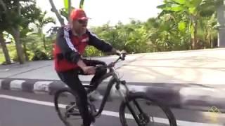Sepeda Wisata (Serba Serbi Dharma Karyadhika Tahun 2017) Kanwil Kemenkumham NTB