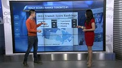 Toronto ranks #1 in Walk Score, tipping your barista, your winter hashtags