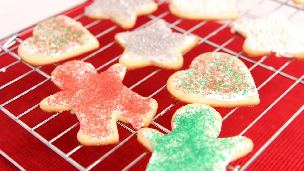 Cutout Sugar Cookie Recipe Laura Vitale Laura In The Kitchen