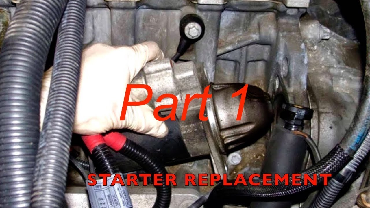 service manual how to replace starter on a 2009 bmw x6