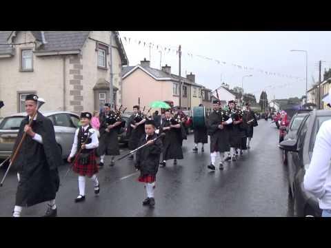 Brookeborough Pipe Band @ Brookeborough District Parade 2015