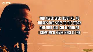 PARTYNEXTDOOR, Rihanna - BELIEVE IT (Lyrics)